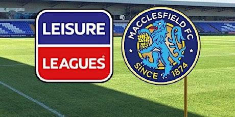 Macclesfield 6 a side Football tickets