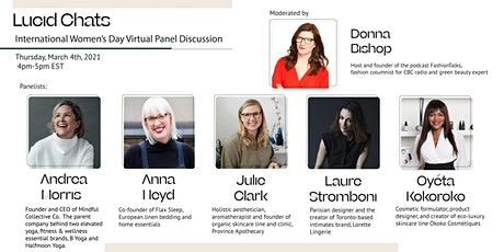 Lucid Chats // International Women's Day Virtual Panel Discussion tickets