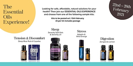 Essential Oils Experience February 22nd 2021 tickets
