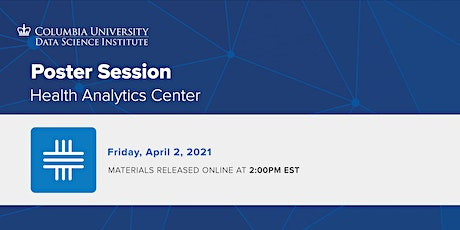 Health Analytics Poster Session tickets