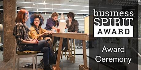 Business Spirit Award - final ceremony tickets