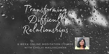 TRANSFORMING DIFFICULT RELATIONSHIPS - Class 3 tickets