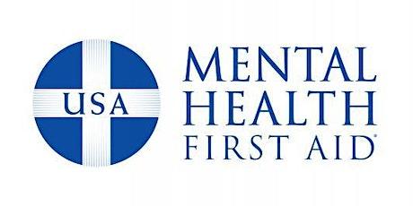Virtual Mental Health First Aid tickets