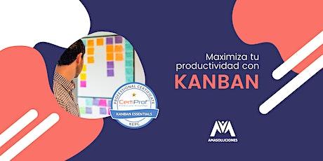 Certificación Internacional en KANBAN - Feb. 2021  entradas