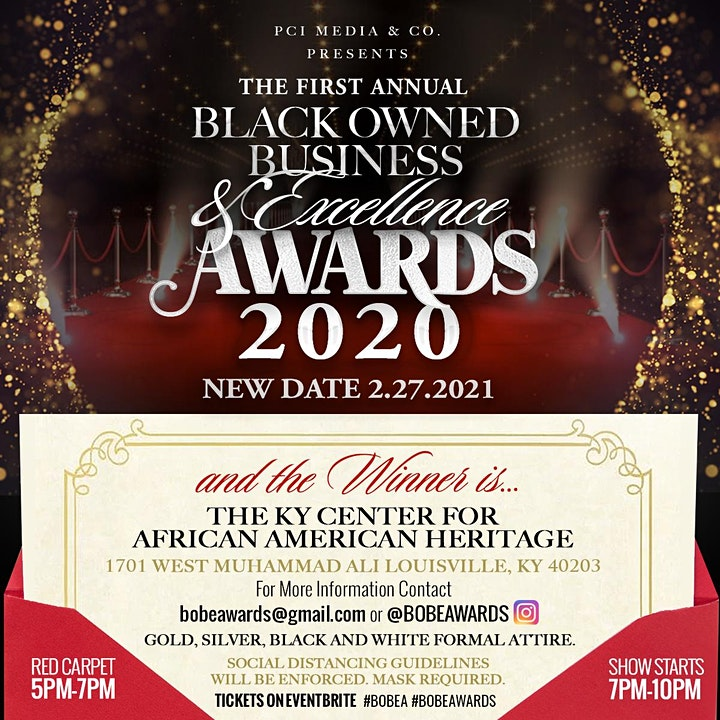 The First Annual Black Owned Business & Excellence Awards 2020 image