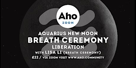 Aquarius New Moon Breath Ceremony tickets