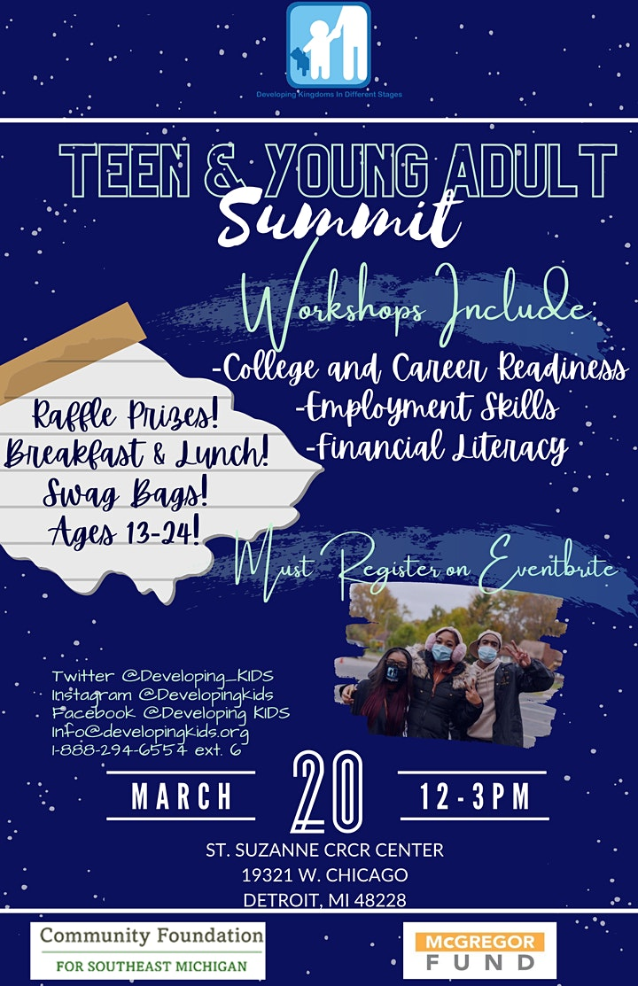 Teen & Young Adult Summit image