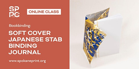 Bookbinding: Soft Cover Japanese Stab Binding Journal - ONLINE tickets