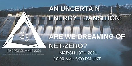An Uncertain Energy Transition: Are We Dreaming of Net-Zero? tickets