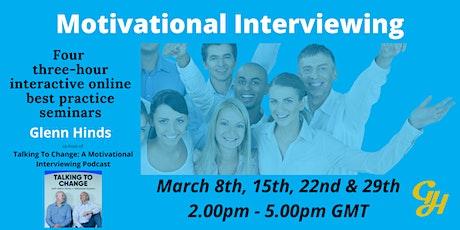 Online Best-Practice In Action Motivational Interviewing Seminar Series tickets