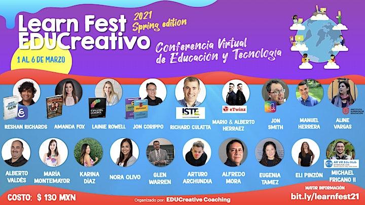 Imagen de Learn Fest EDUCreativo - Spring 21