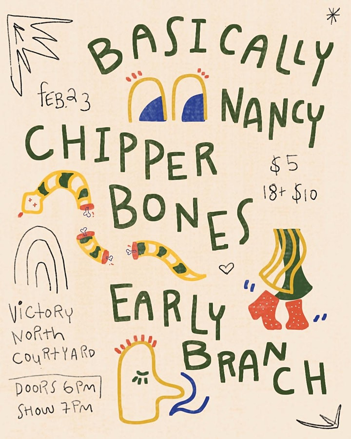 Basically Nancy | Chipper Bones | Early Branch at Victory North Courtyard image
