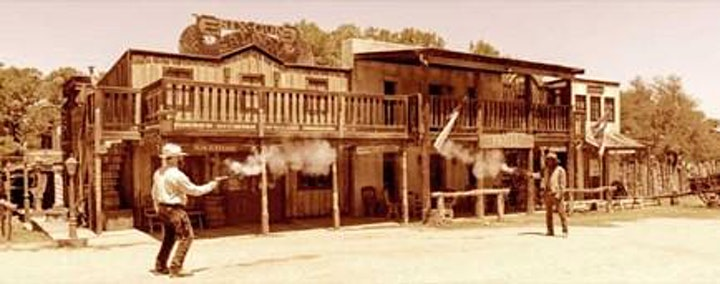 The Wild West: Miners, Cowboys, Gunslingers, Saloon Madams and Ghost Towns image