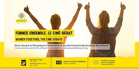 Ciné-débat à l'occasion de la Journée Internationale des Droits des Femmes tickets
