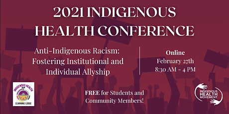 2021 Indigenous Health Conference tickets