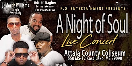 A Night of Soul tickets