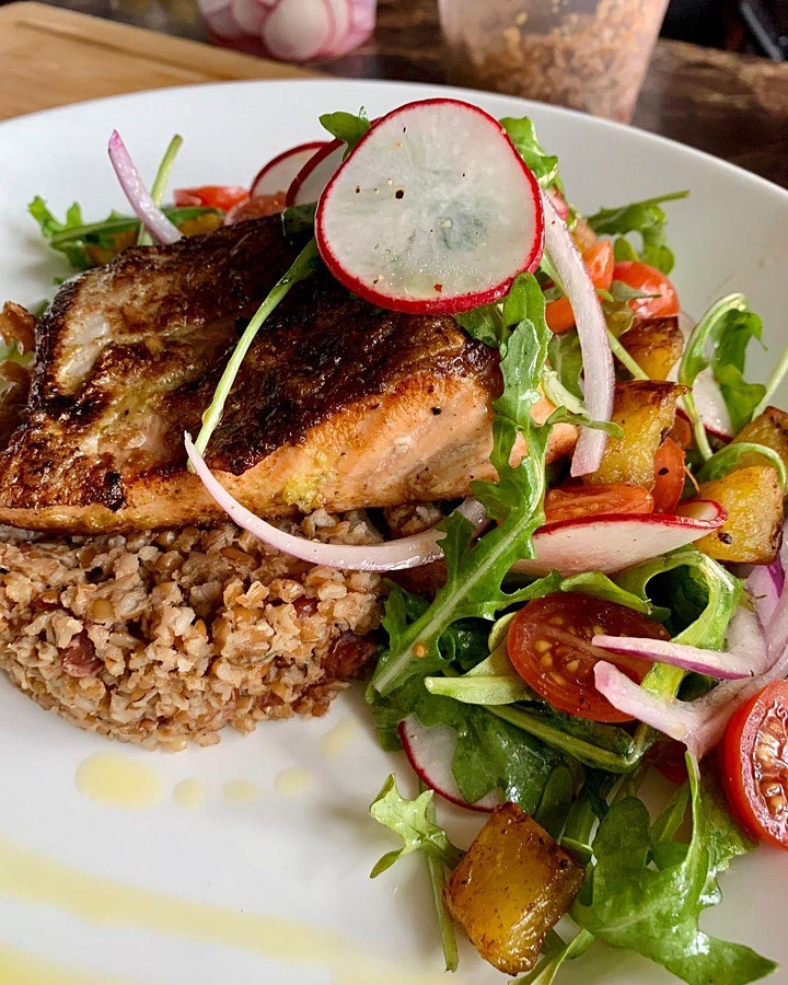 """""""Taste of Haiti"""" with Chef Fabiola - Odyssey Across Africa Cooking Class image"""