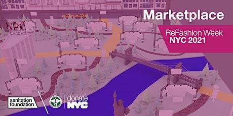ReFashion Week 2021: Virtual Marketplace tickets