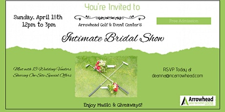 Intimate Bridal Show tickets