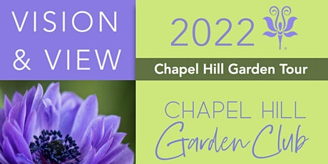 Chapel Hill Garden Tour April 23, 10:00 a.m. - 4:00 p.m. and April 24, 2022 tickets