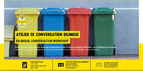 Atelier de  conversation bilingue tickets