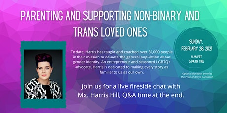 Parenting and Supporting Non-Binary and Trans Loved Ones tickets