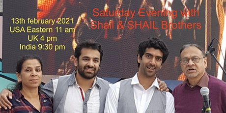 Saturday Evening with Shail & SHAIL Brothers tickets