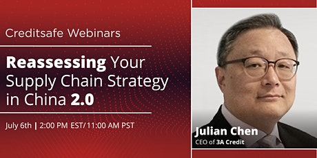 Webinar: Reassessing Your Supply Chain Strategy in China 2.0 tickets