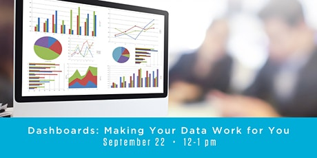 Dashboards: Making Your Data Work for You tickets