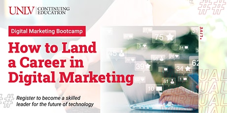 How to Land a Career in Digital Marketing | Info Session tickets