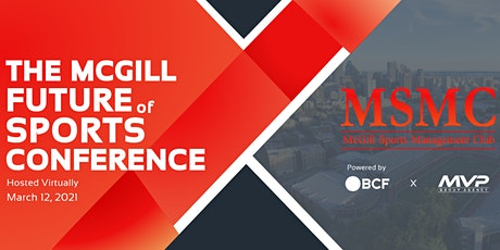 McGill Future of Sports Conference Tickets