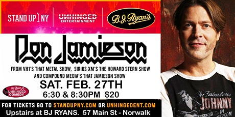 Unhinged Comedy presents: Don Jamieson tickets