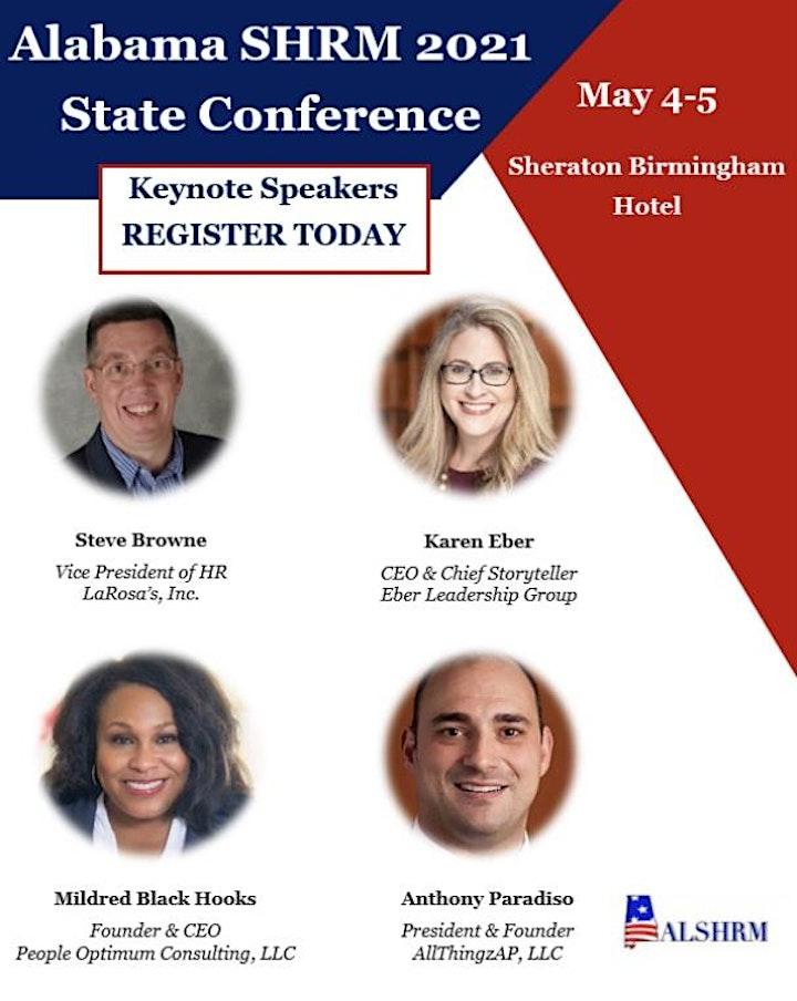 2021 ALSHRM State Conference & Exposition image