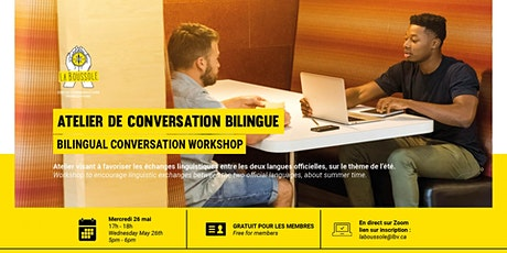 Atelier de  conversation bilingue billets