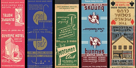 Typography of the Matchbook: A Lecture with SF Neon and Stephen Coles tickets
