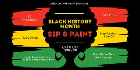 Black History Month Sip & Paint tickets
