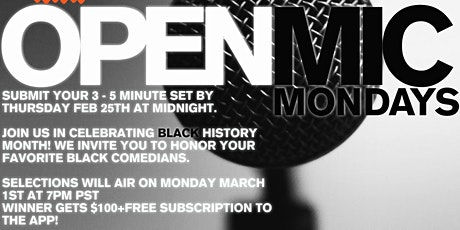 Laugh Lounge Presents Open Mic Mondays tickets