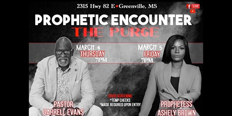 Prophetic Encounter: The Purge tickets