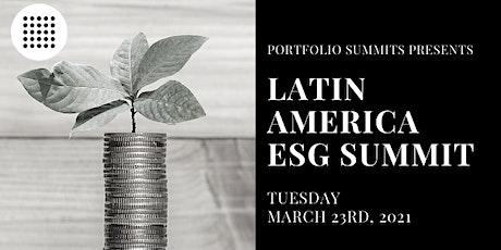 Latin America ESG Summit biglietti