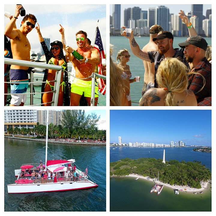 MIAMI PARTY BOAT INDEPENDENCE DAY image