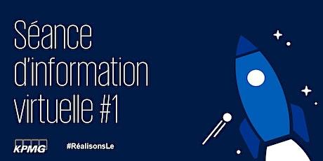 KPMG - Séance d'information #1 | Info session #1 billets