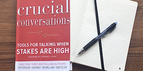 "Touchstone Titles : ""Crucial Conversations"" in 4 sessions tickets"