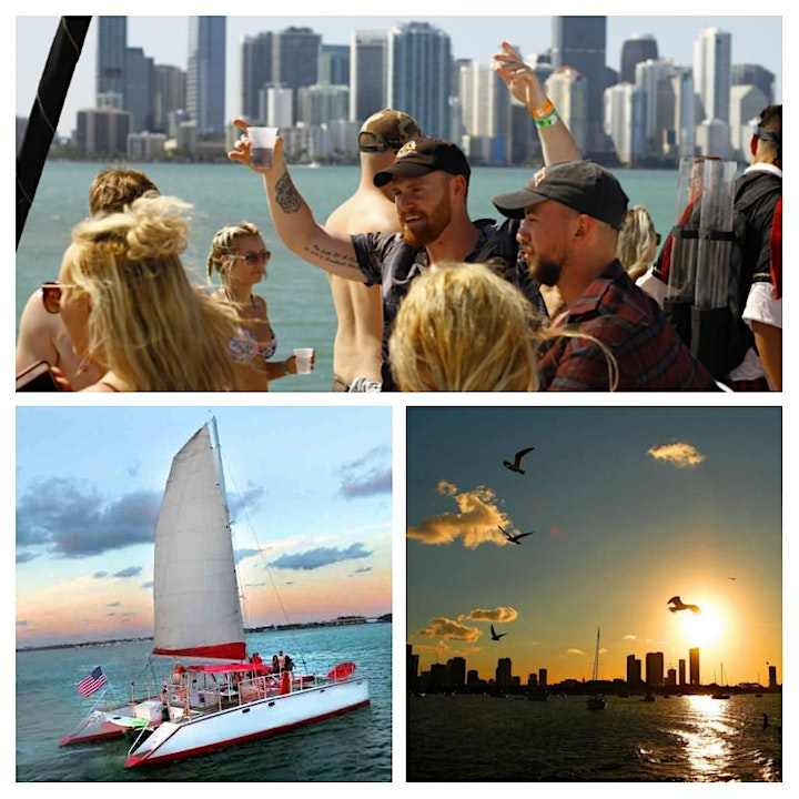 INDEPENDENCE DAY ALL INCLUSIVE BOAT PARTY IN MIAMI image