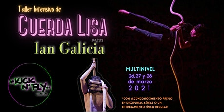 Taller intensivo de Cuerda Lisa boletos