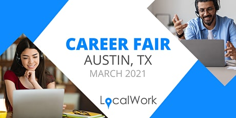 Austin TX Job Fair - April 2021 - VIRTUAL CAREER FAIR tickets