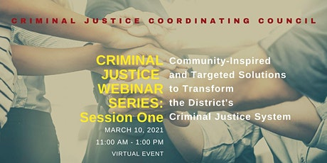 Criminal Justice Webinar Series: Session One tickets