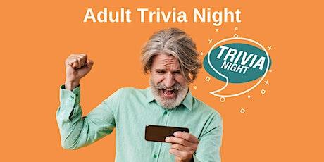 Adult Trivia Night tickets