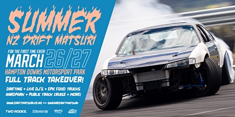 Summer NZ Drift Matsuri Festival 2021 tickets