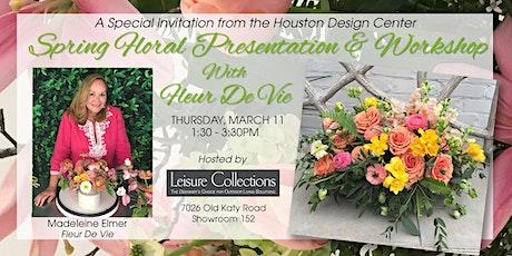 Floral Design Presentation & Workshop with Madeleine Elmer tickets
