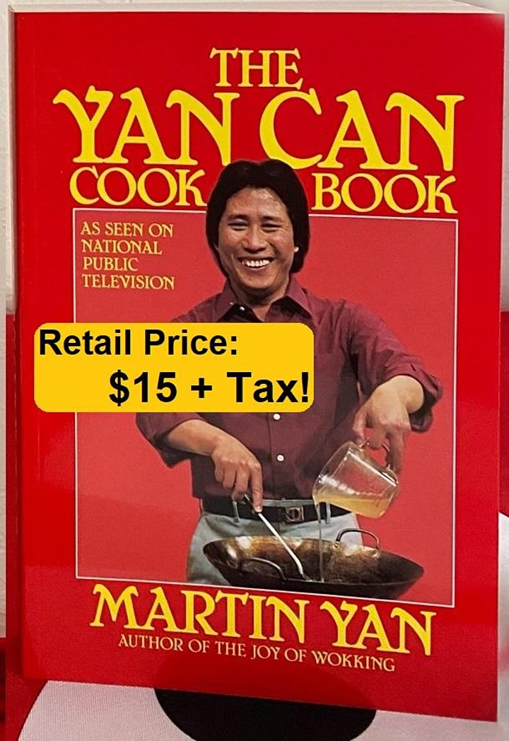 APACC Zoom Fundraiser - Celebrate Spring with Martin Yan image